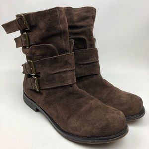 Nine West Vintage America Suede Boots